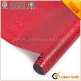 Nº 5 Tecidos laminados não tecidos vermelhos