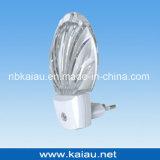 Luz européia aprovada da noite do diodo emissor de luz do sensor da fotocélula do plugue do GS (KA-NL317)