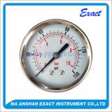 Ss 측정하 건조한 압력 측정하 센터 뒤 압력계