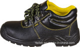 Профессиональные сплит-тисненые кожаные защитные ботинки, высокая лодыжка