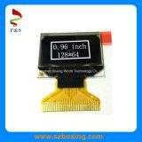 Горячая продажа 0,96-дюймовый 128 X 64p OLED с белым цветом, 8-битный параллельный 6800/8080, 3/4-провод Spi, II C