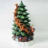 Polyresinのクリスマスの建物の樹脂のクリスマスツリー