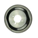 Estampage d'une partie de la rondelle métallique