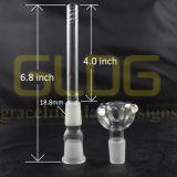 Gldg 14/18mm Verbinding 3, 4, 5, Duim Lenth onderaan Stam voor de Waterpijp van het Glas