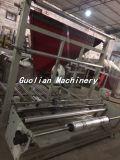 Rand-Dichtungs-Beutel, der Maschine mit flanschender Maschine herstellt