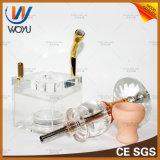 1 مجموعة الشيشة الأنابيب مع وعاء صينية النرجيلة الأنابيب