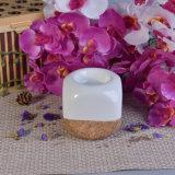 Supporti di candela di ceramica di Tealight del cubo di disegno dei dadi con la decorazione
