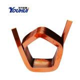 Bobina de indução de bobina de cobre de cobre de aço enrolado bobinada