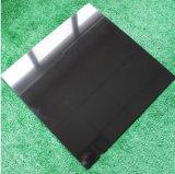 까만 색깔 Polished 도와 세라믹 지면 도와, 도와 600*600를 둘러싸는 가정 훈장을%s 사기그릇 도와