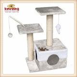 Natürlicher Sisal eingewickelt, Katze, die Baum (KG0006, löscht)