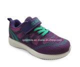 Gesponnene strickende Sport-Schuhe mit Flausch für Kinder