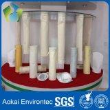 Sacos de filtro do coletor de poeira da fibra de vidro