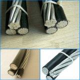 Воздушный связанный кабель кабеля/ABC с изоляцией PE или XLPE