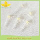 Устранимые медицинские пластичные трехходовые клапаны крана