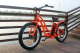 E-Bici calda poco costosa dell'incrociatore della spiaggia di vendita della gomma grassa per la signora