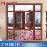 Foshan Hot-Sale Casement ventana con las redes de Villa