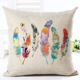 Feather Style Home Oreiller décoratif Crayon de coussin Home Home