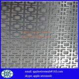 Panneau perforé en métal dans 0.5mm à 4.0mm