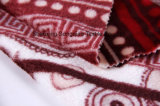 Franela impresa del poliester/tela coralina del paño grueso y suave - 15366-7 1#