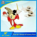 Emblema de borracha personalizado do Pin do PVC da promoção do preço de fábrica com projeto livre
