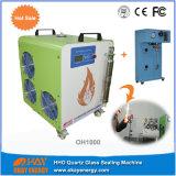 산소 수소 놋쇠로 만드는 구리 배관 Oh1000 Hho 석영 유리관 밀봉 기계