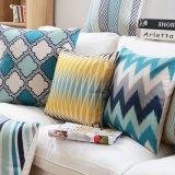 Linho de algodão Impresso Almofadas decorativas baratos para decoração de cama