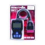 Escáner de diagnóstico OBD2 Auto Color Gris Autophix Om123 V1.5 error código lector ruso de la herramienta de análisis de diagnóstico para el coche mejor que el ELM327 V1.5
