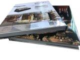 Impression de livre de cuisinier de livre À couverture dure de Cusotomized (OEM-JH005)