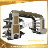6 Drucken-Maschinen-Maschinerie der Farben-OPP/PE/LDPE Flexo flexographische