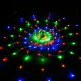 a rede quente da aranha da venda 210LEDs de 2m*3m ilumina 8 brilhantes super instantâneos das modalidades 220V