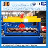 828 Machine de formage de rouleaux de feuilles de toit en verre glacé coloré
