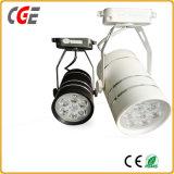 AC85-265V COB 30W/35W/40W CREE LED puce d'éclairage de la piste par piste lumière28/ PAR30 LED feux vers le bas