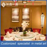 Parete divisoria decorativa interna di qualità superiore personalizzata di Backgroud dell'acciaio inossidabile