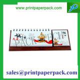 フルカラーの印刷の特殊紙の印刷の昇進の卓上カレンダー