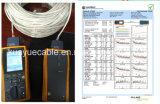 Cavo siamese di Lancable Utpcat5e 2power per il cavo dell'audio del connettore di cavo di comunicazione di cavo di dati del cavo della rete Cable&DVR/Computer