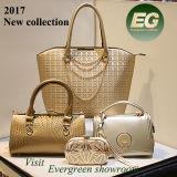 2017人の新式のHandbag Woman Sholder Bag袋セットの高品質PU袋セットの女性デザイナーPUのハンドバッグの女性袋のセットされる一定の革女性袋(SY7631)