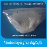 Medicamentos anestésicos locais 99% USP 136-47-0 Tetracaína HCl