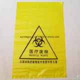 Saco de lixo plástico personalizado de Biohazard com impressão