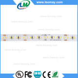 20.4W certificated CE 1020LED por a luz de tira branca do CRI do rolo 80RA