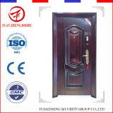 Nueva puerta interior de la seguridad del hierro labrado del borde