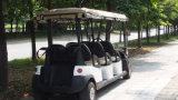 Carro de golfe elétrico do passageiro da capa 8 da chuva feito por Excar