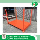 Rack d'empilage de métal de pliage pour le stockage de marchandises par Forkfit