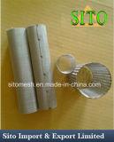 Filtro tecido do cilindro do engranzamento de fio do aço 304 inoxidável