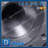 Didtek forjou o aço reduz a válvula de esfera do eixo do corpo do furo 3PCS
