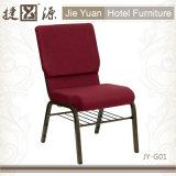 Наращиваемые коммутаторы Металлические стулья для Церкви залы (JY-G01)