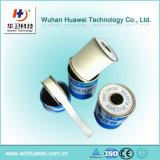 Bande 100% chirurgicale d'oxyde de zinc de taille différente adhésive intense de coton avec l'emballage en métal