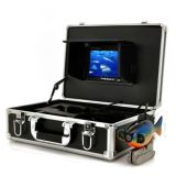 "Conjunto de luxo 7"" localizador de peixes debaixo do monitor com o cabo da câmera de vídeo 50"