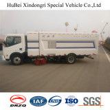 6cbm Dongfeng Vakuumabsaugung-Straßen-Kehrmaschine-waschender LKW des Euro-4