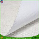 Tissu imperméable à l'eau de rideau en arrêt total de franc tissé par tissu de rideau en guichet de textile