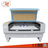 Dreiergruppe geht Laser-Ausschnitt-Maschine für Textilausschnitt voran (JM-1590-3T)